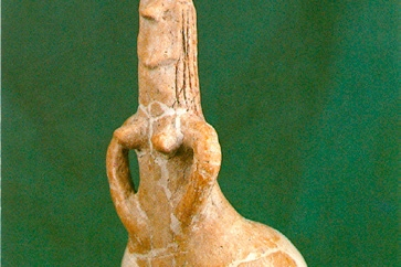 Red Haired Goddess, Early Neolithic (around 5000 BC)