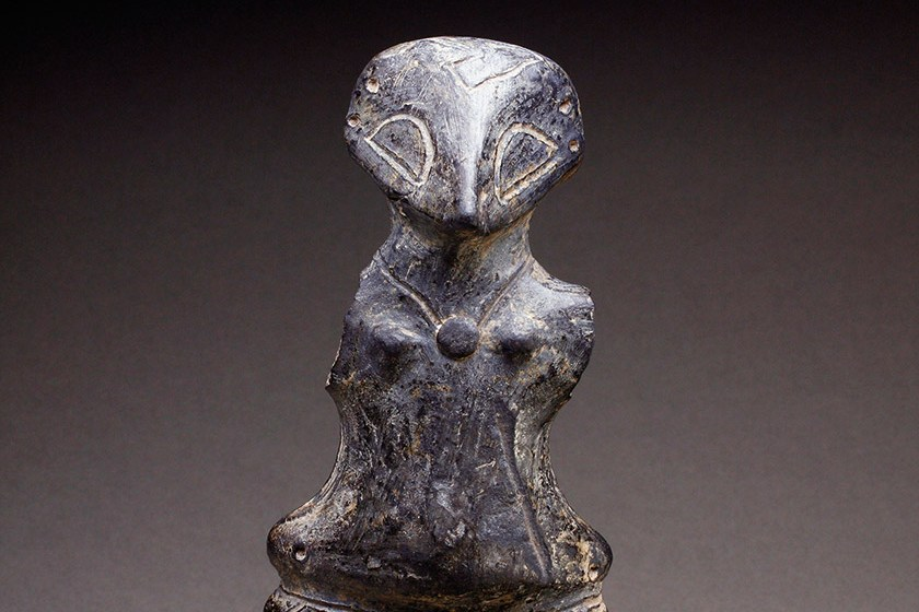 Anthropomorphic figurine, ceramics, Neolithic Age